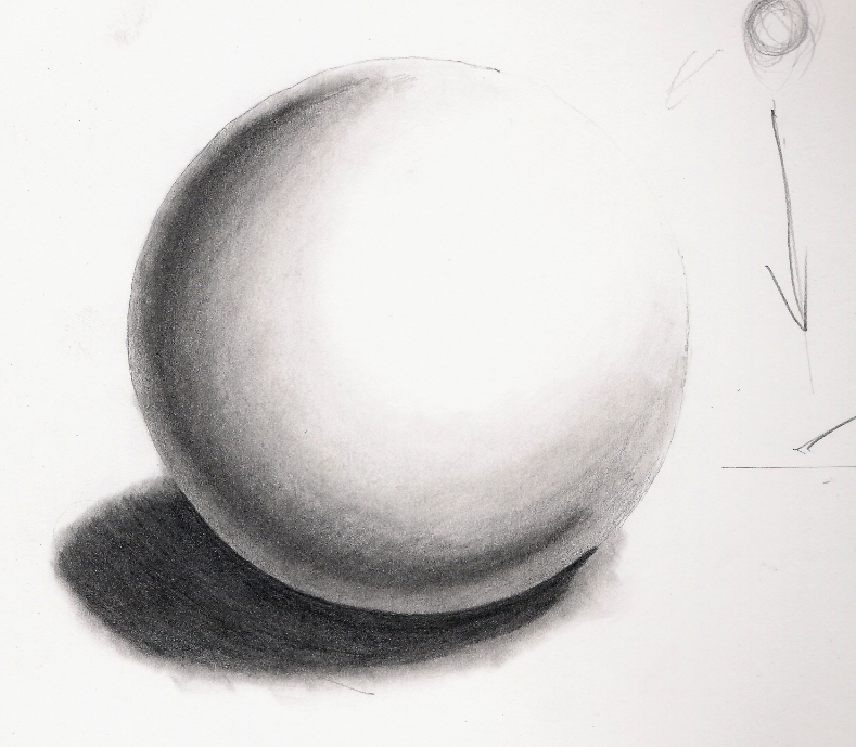 How to Draw a Sphere Step By Step | Drawing a Sphere Realistically ...