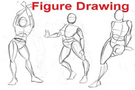 Figure Drawing Lesson Series [1 of 8] – The Key To Drawing The Human Figure