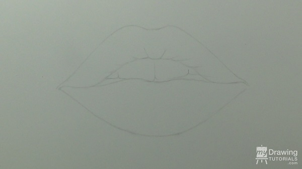 Drawing Lips 3