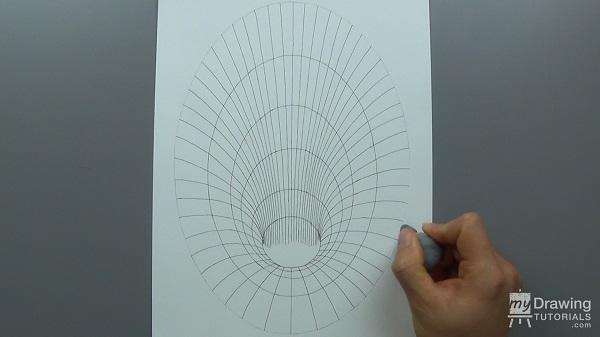 3D Hole Optical Illusion Drawing 8