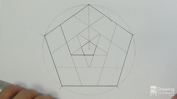 Impossible Pentagon Drawing 17
