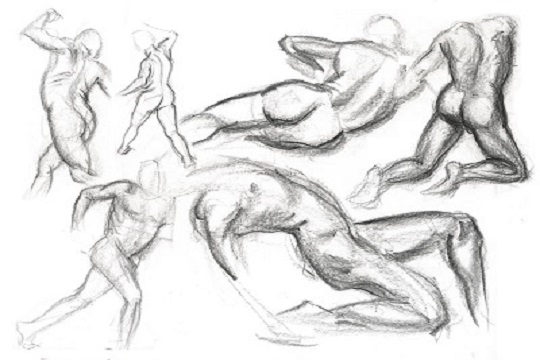 How To Draw A Human Figure [1/2] – Drawing The Human Figure From Your Mind