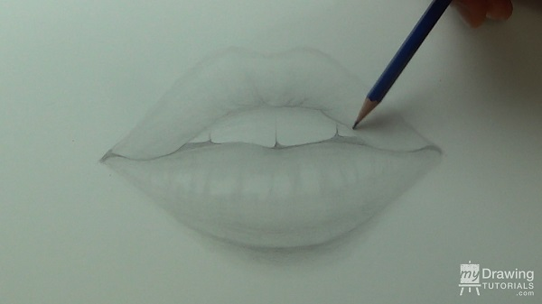 Drawing Lips 12