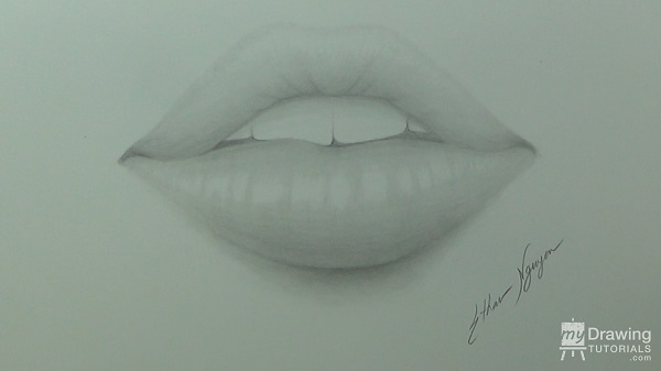 Drawing Lips 13