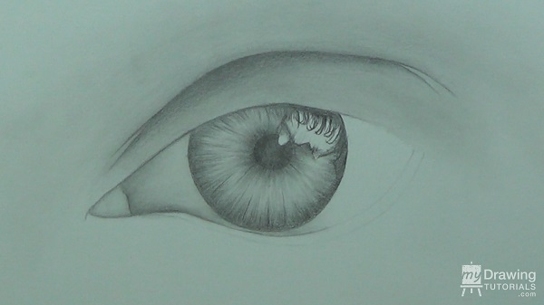 How To Draw An Eye My Drawing Tutorials