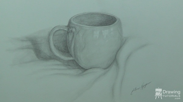 How To Draw A Still Life Cup