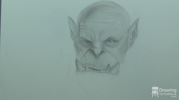 Orc Drawing 12