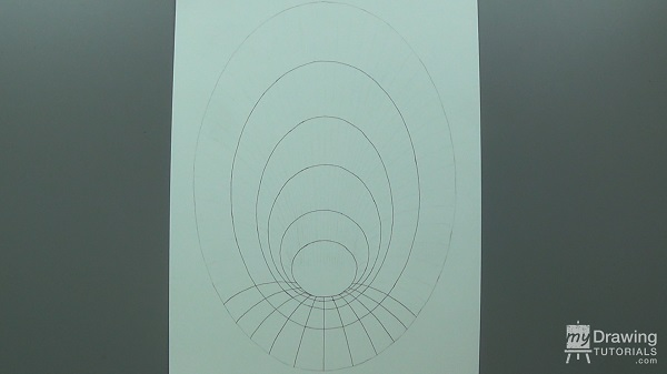 3D Hole Optical Illusion Drawing 6