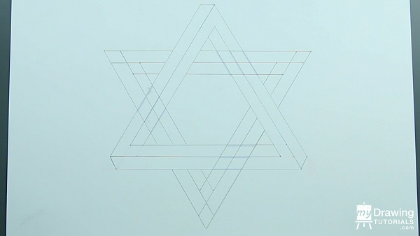 Drawing Impossible Star of David 11