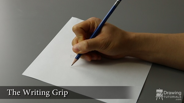 How To Hold Your Drawing Pencil 1