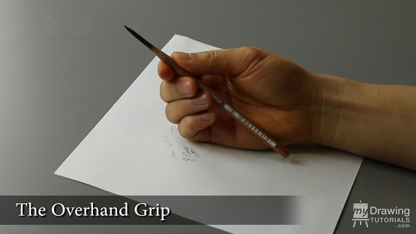 How To Hold Your Drawing Pencil 4