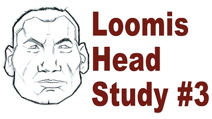 Andrew Loomis Drawing Study 3 – Sketching a Cartoon Style Head