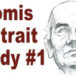 Andrew Loomis Portrait Study – Sketching an Older Male Head